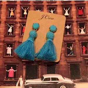 🆕Jcrew Turquoise Tassel Earrings